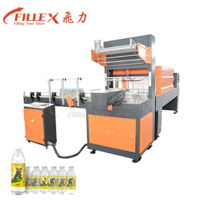 L Tpye Automatic PE Film Shrinker Wrapper with Heat Tunnel for Bottles