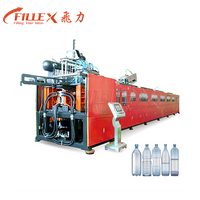 Full Electric 9 Cavity 18000bph Rotary Heating PET Bottle Water Bottle Stretch Blow Moulding Machine