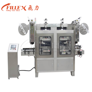Double Heads Shrink Sleeve Labeling Machine