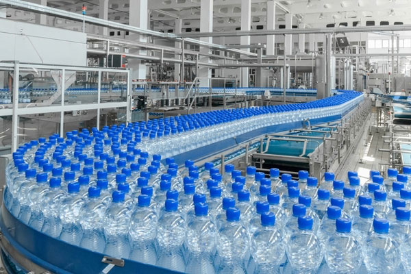 bottled water bottling plant