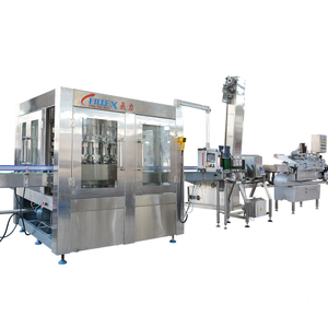 High Speed Tomato Paste Glass Bottle Bottling Production Line
