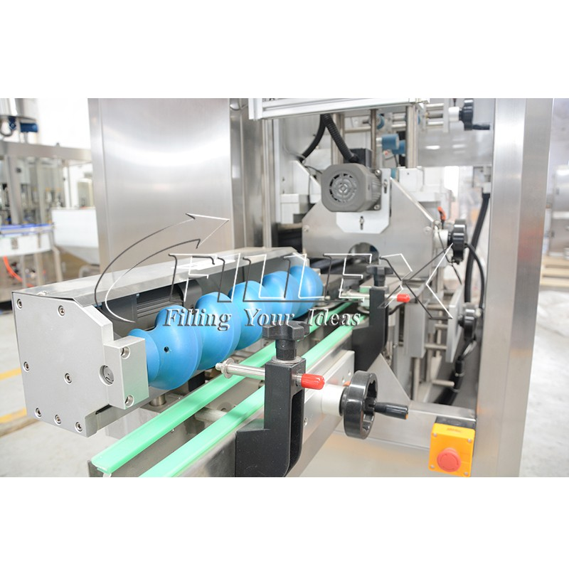 Automatic Bottle Water Juice CSD Shrink Sleeve Applicator