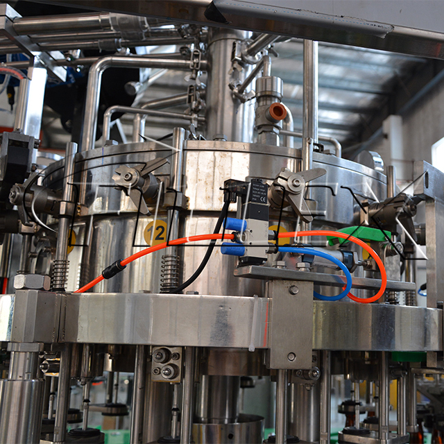 Automatic High Speed Caboneted Beer Production Filling Line