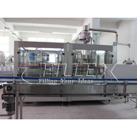 PET Bottle Plastic Bottle Water Filling Machine with Handle