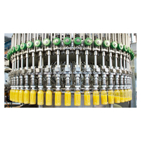 PET Bottle Juice/Tea/Energy Drink/Milk Filling Equipment 3 in 1 Production Line