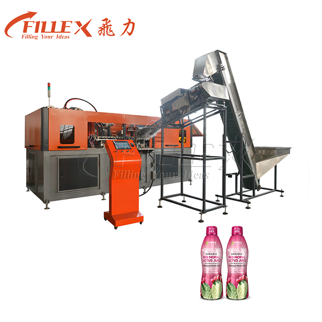 0.3-2L 4Cavity Hot Fill Bottle Stretch Blow Moulding Machine