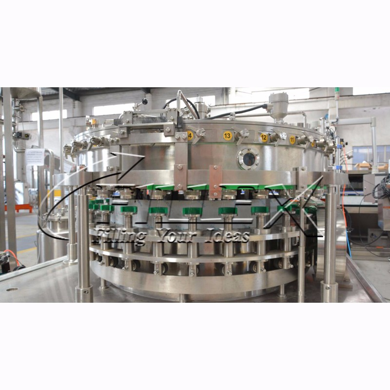 High Speed Carbonated Drink Tin Filling Production Line