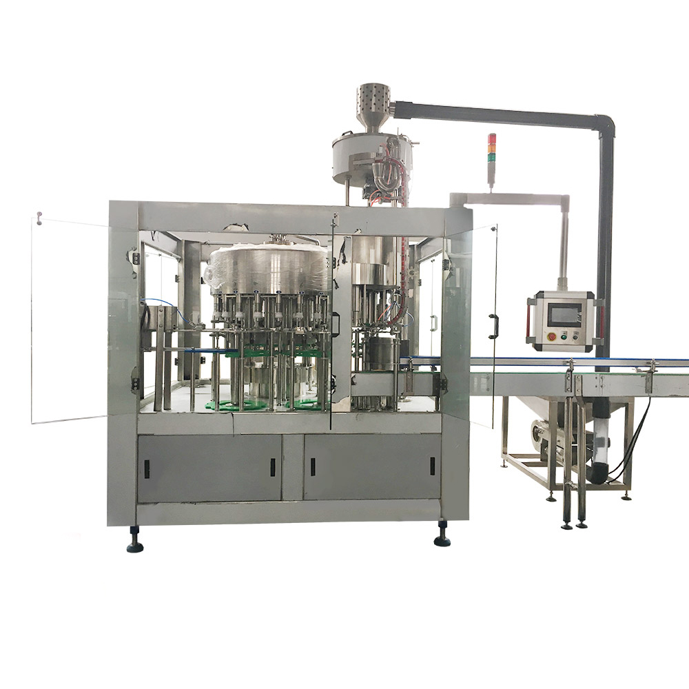 Weighing Type Automatic Oil Packaging Machine