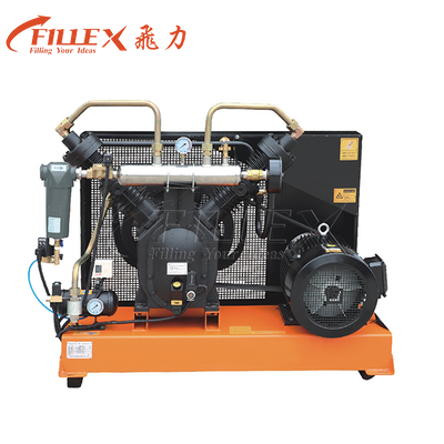 Two Stage Piston Type High Pressure Air Compressor