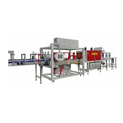 Automatic Single Roll PE Film Wrapping Shrinking Machine